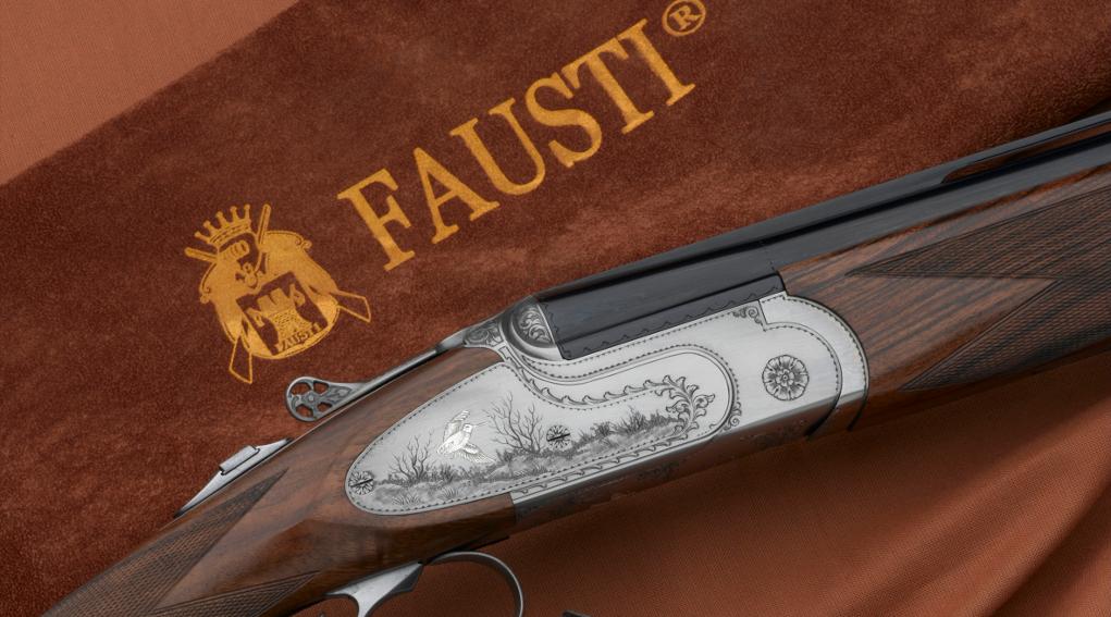 fucile sovrapposto da caccia Fausti Class SL Dedicato alla Regina nelle due versioni