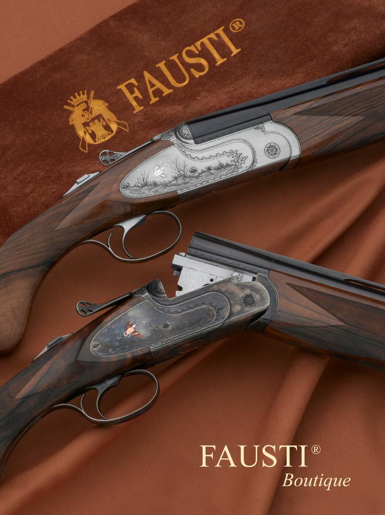 fucile sovrapposto da caccia Fausti Class SL Dedicato alla Regina