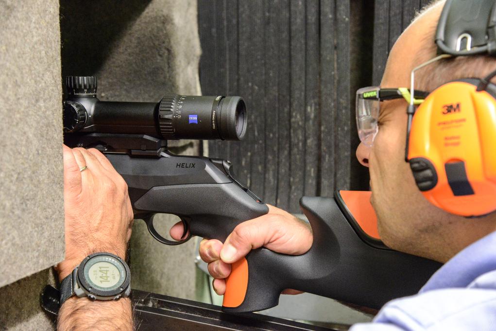 scegliere un'arma multicalibro, Matteo Brogi effettua il test