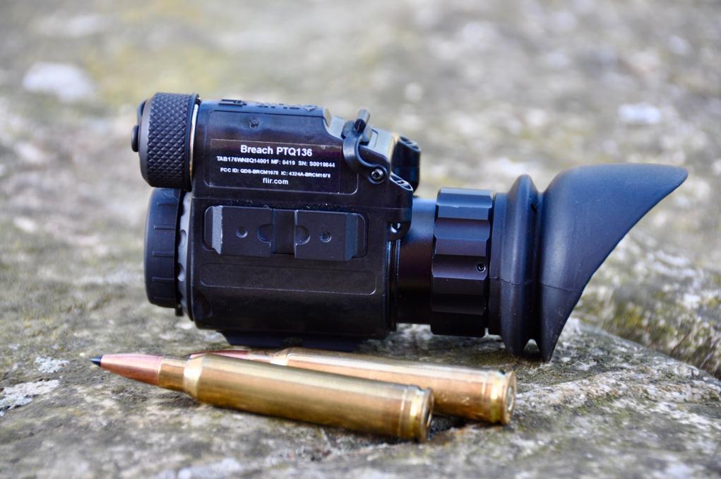 termocamera flir breach vista di lato