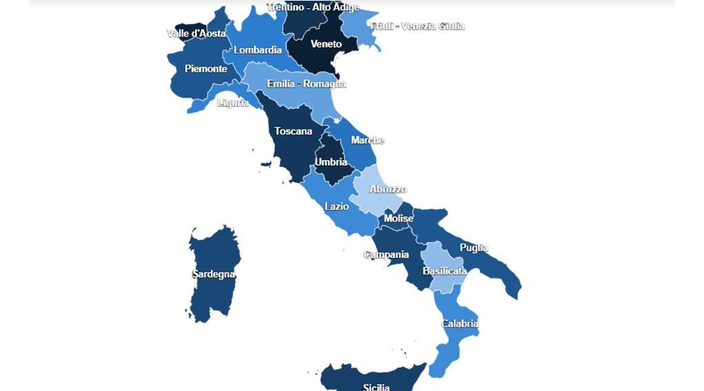 elenco degli impianti Fitav (interattivo!) pubblicato sul sito Arcicaccia