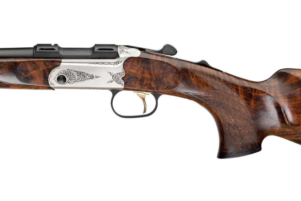 azione, grilletto e impugnatura a pistola della carabina merkel k5