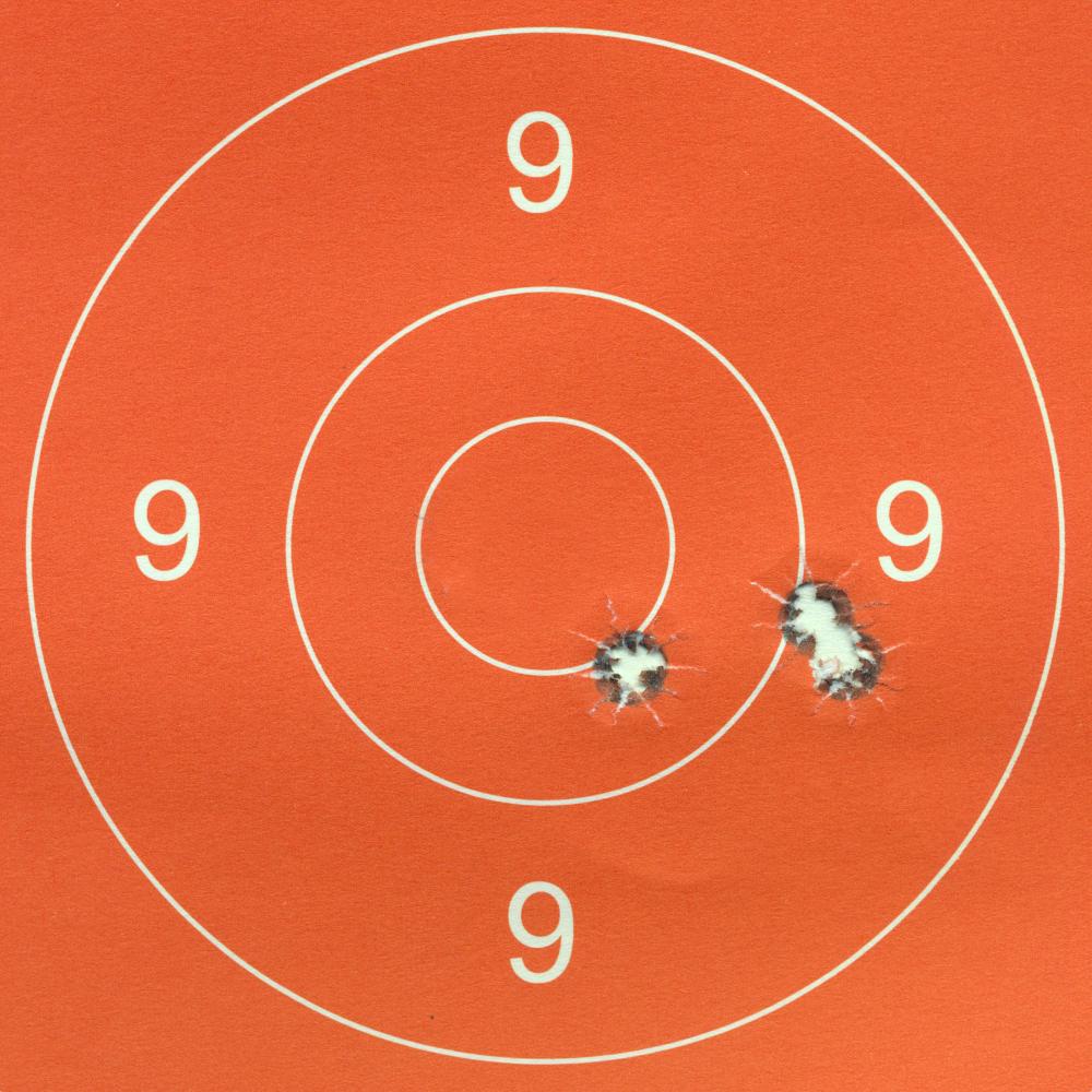 rosata del test effettuato da matteo brogi con le munizioni ibex tornado