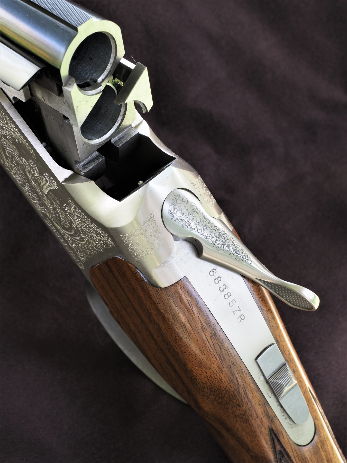 Browning B525 Game One Light calibro 20 in apertura