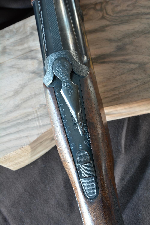 i comandi sulla codetta superiore di bascula del Fair Slx 600 De Luxe Black