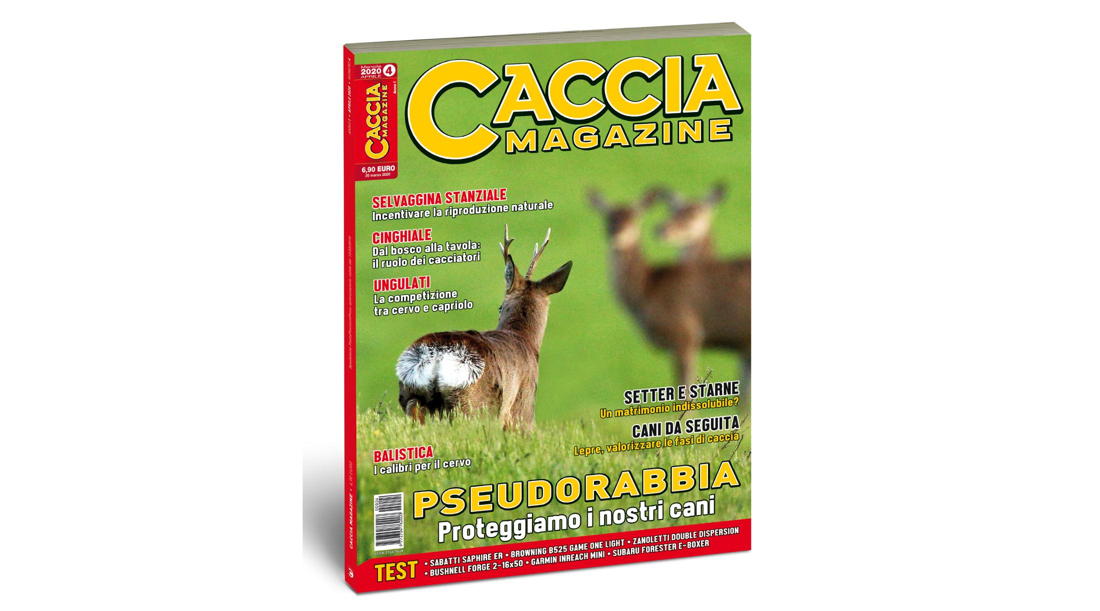 Caccia Magazine aprile 2020 è in edicola