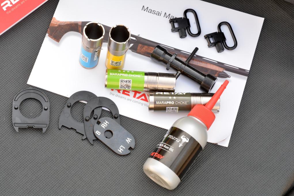 dotazione del fucile semiautomatico Retay Masai Mara Bottomland Green