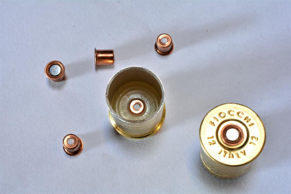 innesco delle munizioni ricaricate per la caccia alla volpe