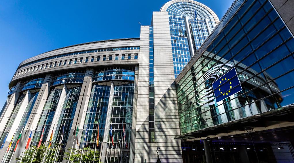 consumo di selvaggina in Europa: parlamento europeo, sede di Bruxelles