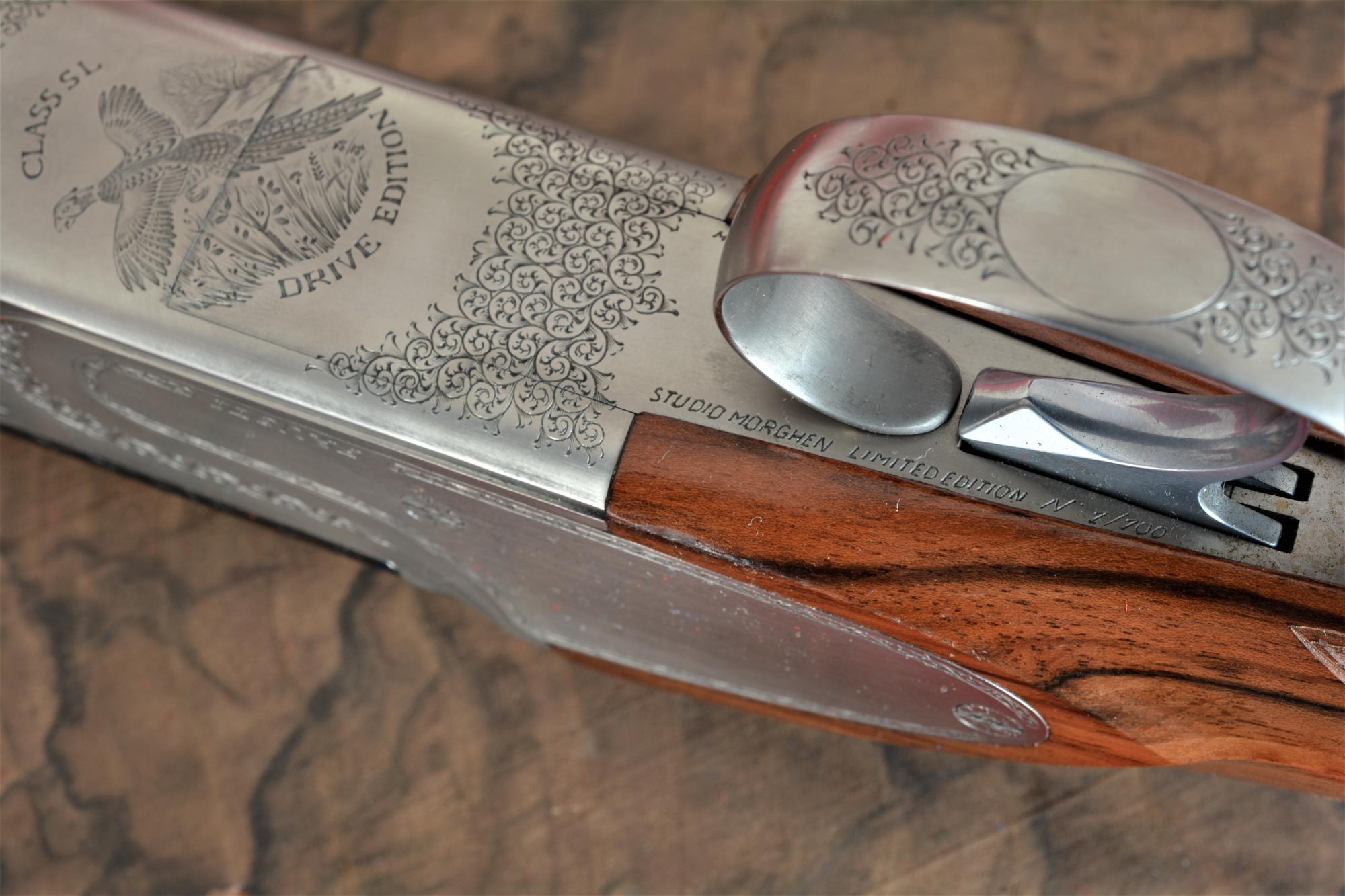 incisioni dei fucili Fausti Class SL Drive Edition