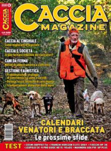 copertina Caccia Magazine giugno 2020