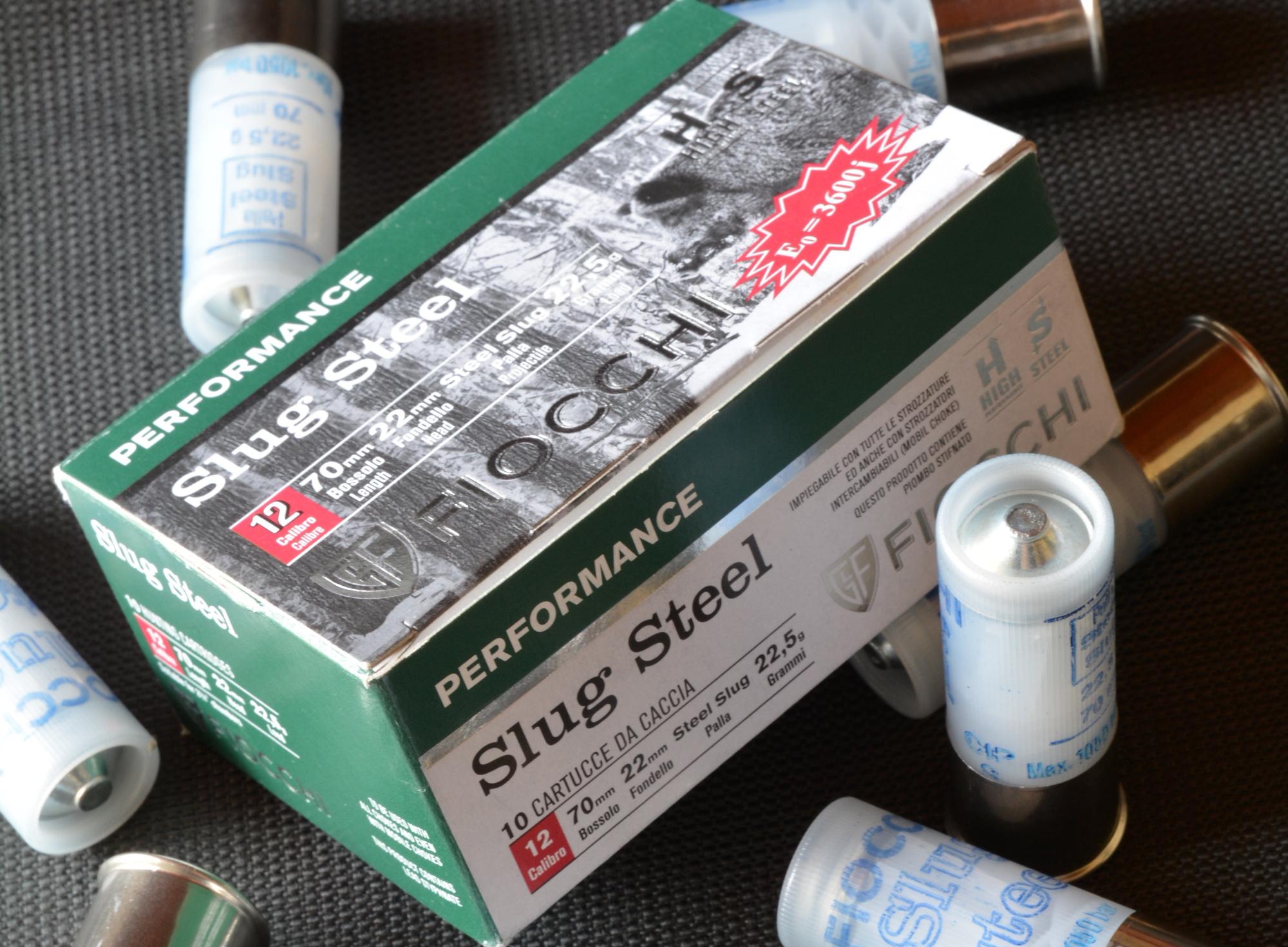 Fiocchi Performance Slug Steel calibro 12 il test