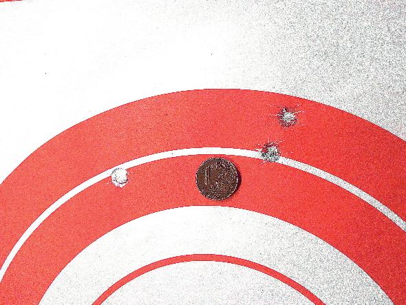 test della carabina Mossberg Patriot American Hunter con munizioni norma bondstrike da 180 grani