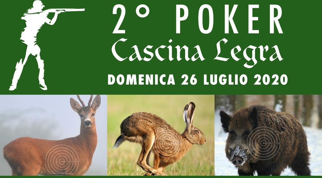 2° Poker Cascina Legra la gara di tiro in programma domenica