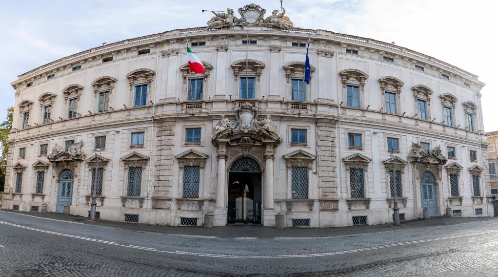 cacciatori e controllo faunistico: palazzo della corte costituzionale