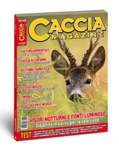 copertina caccia magazine agosto 2020