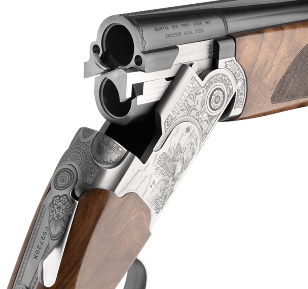 il fucile beretta 687 silver pigeon iii in apertura