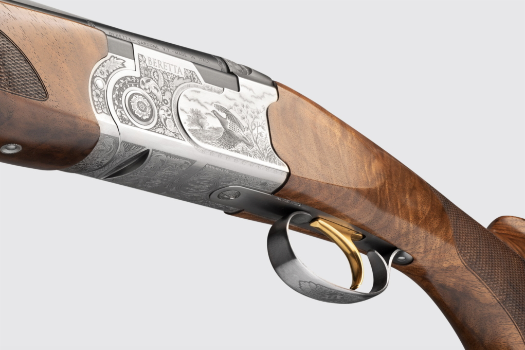 lato sinistro del fucile beretta 687 silver pigeon iii