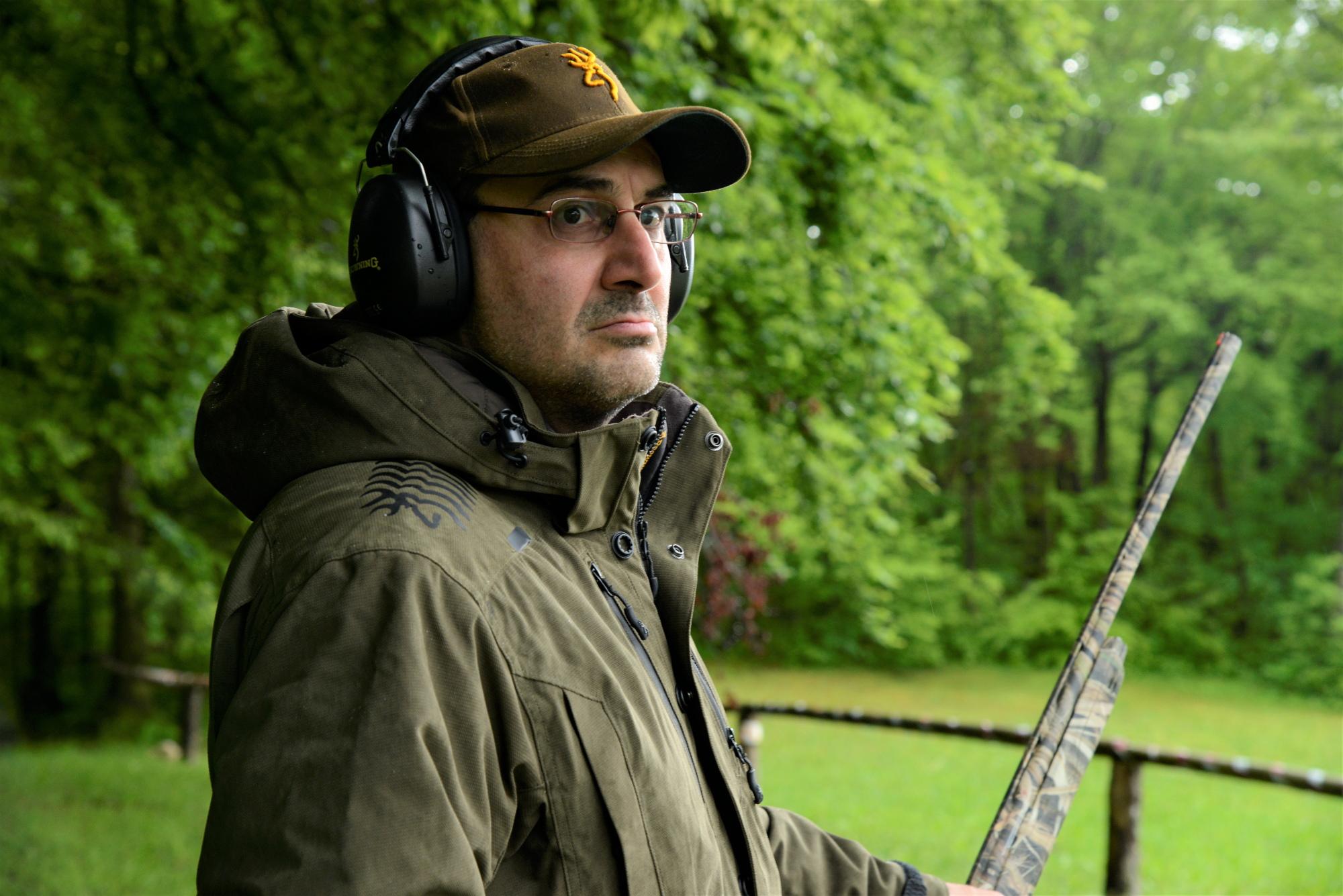 simone bertini prova il fucile winchester sx4 waterfowl