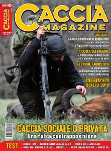 Copertina Caccia Magazine aprile 2021