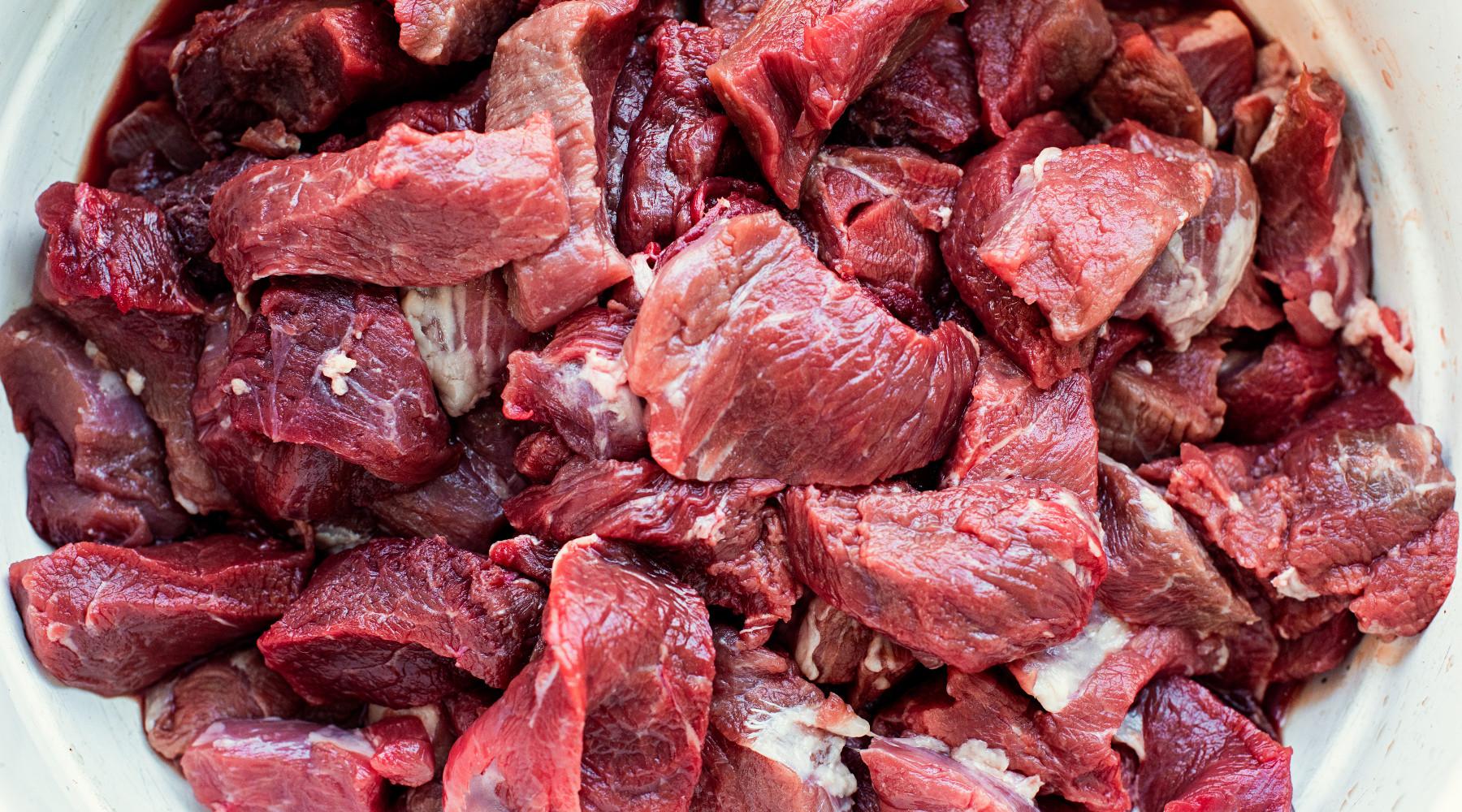 Carne di selvaggina al Banco alimentare: carne di cinghiale