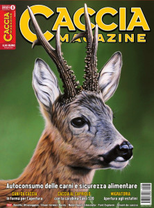 copertina caccia magazine agosto 2021