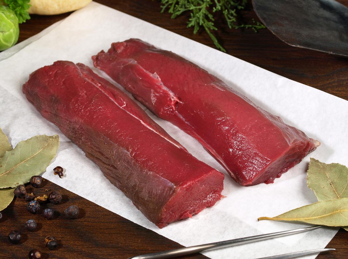 filiera della carne di selvaggina, carne cruda