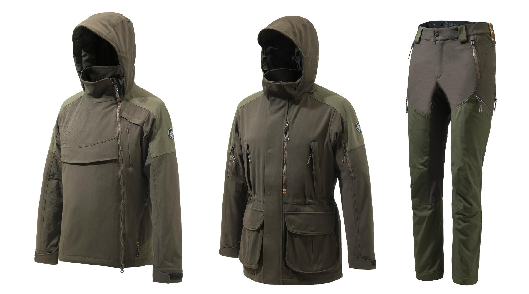 Abbigliamento per la caccia alla cerca, la nuova collezione di Beretta