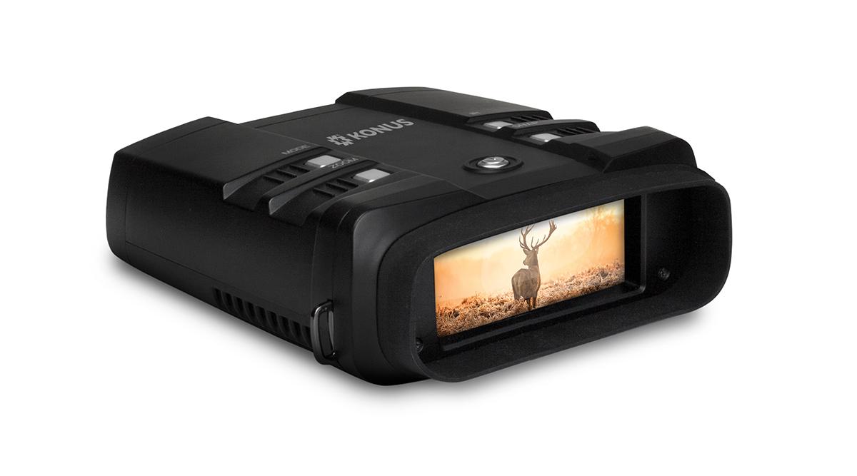 Konuspy-13, il binocolo digitale per l'osservazione notturna