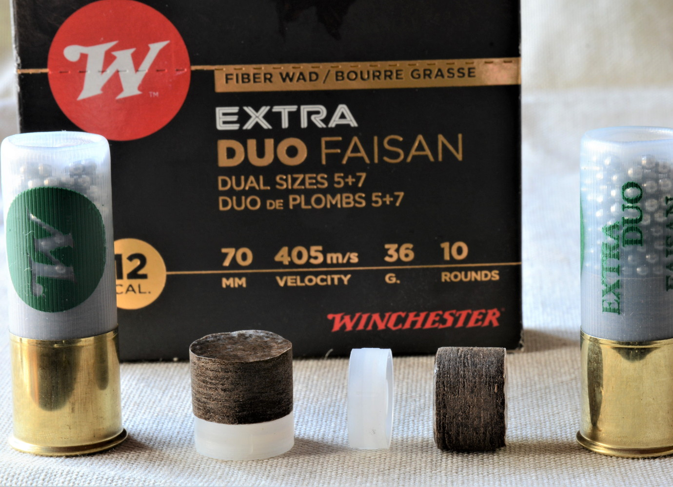 Winchester Extra Duo Faisan calibro 12 il test